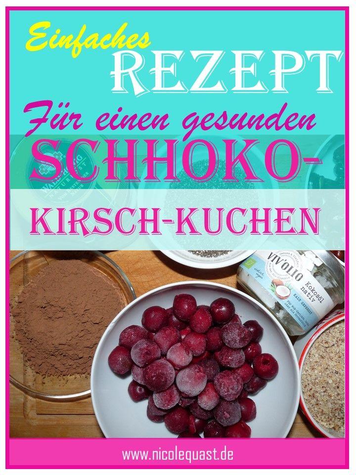 Rezept: Rohkost Schokoladen-Kirsch-Kuchen