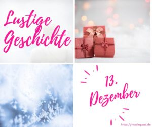 Adventskalender 13. Türchen