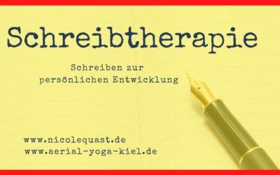 Schreibtherapie